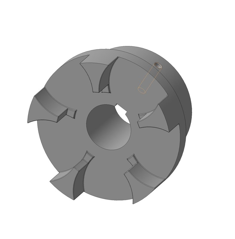 3d model coupling engineering industry