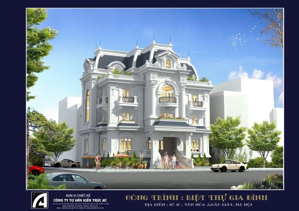 classic mansion 3d max