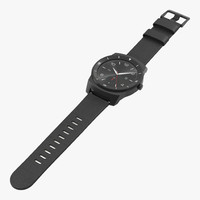 3d lg g watch r model