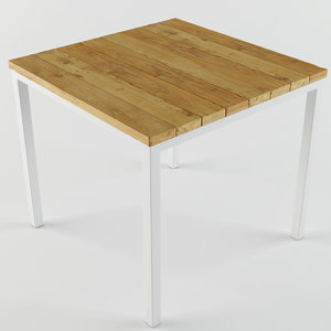 wood wooden table 3d max