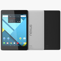 3d google nexus 9 set