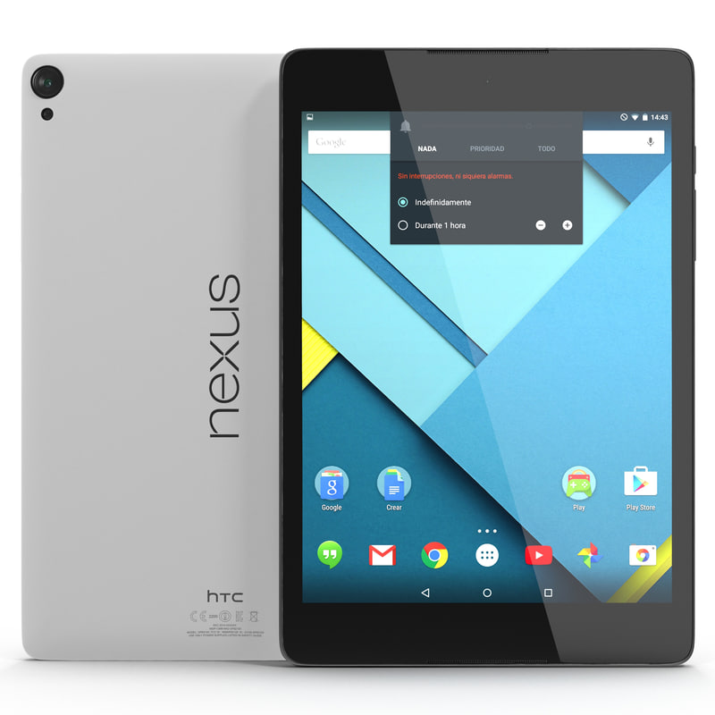 max google nexus 9 white