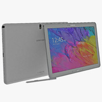 Samsung Galaxy Note Pro 12.2 White 3D Model
