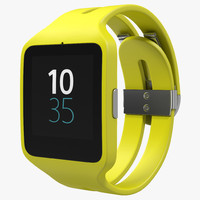 max sony smartwatch 3 green