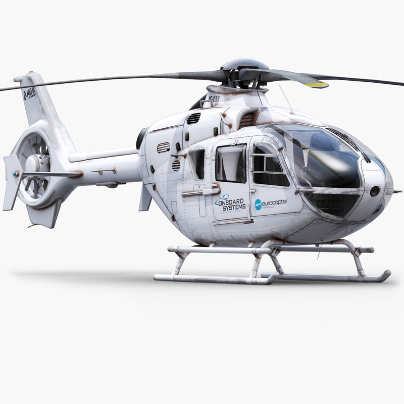 3ds max eurocopter h135