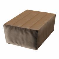 3d footstool shabby