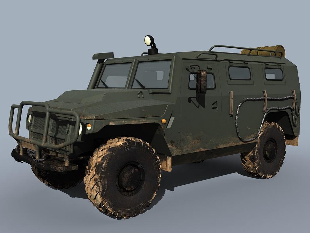 3d model vpk-233114 tigr-m tigr