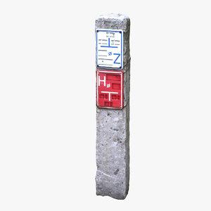stone column scan 3d model