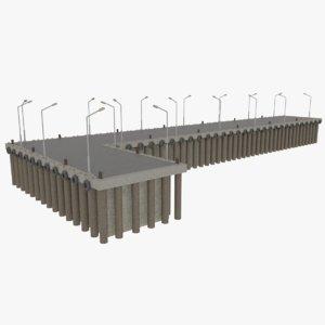 3ds commercial pier
