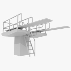 diving board 3d 3ds