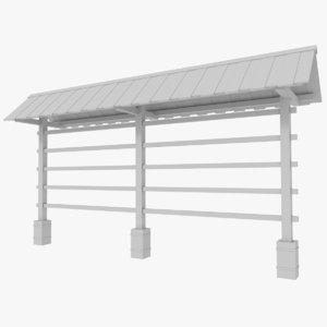 3d hay drying rack