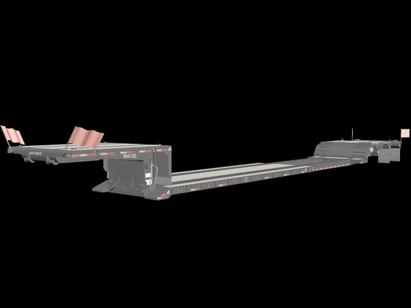 detachable gooseneck strechable 3d model