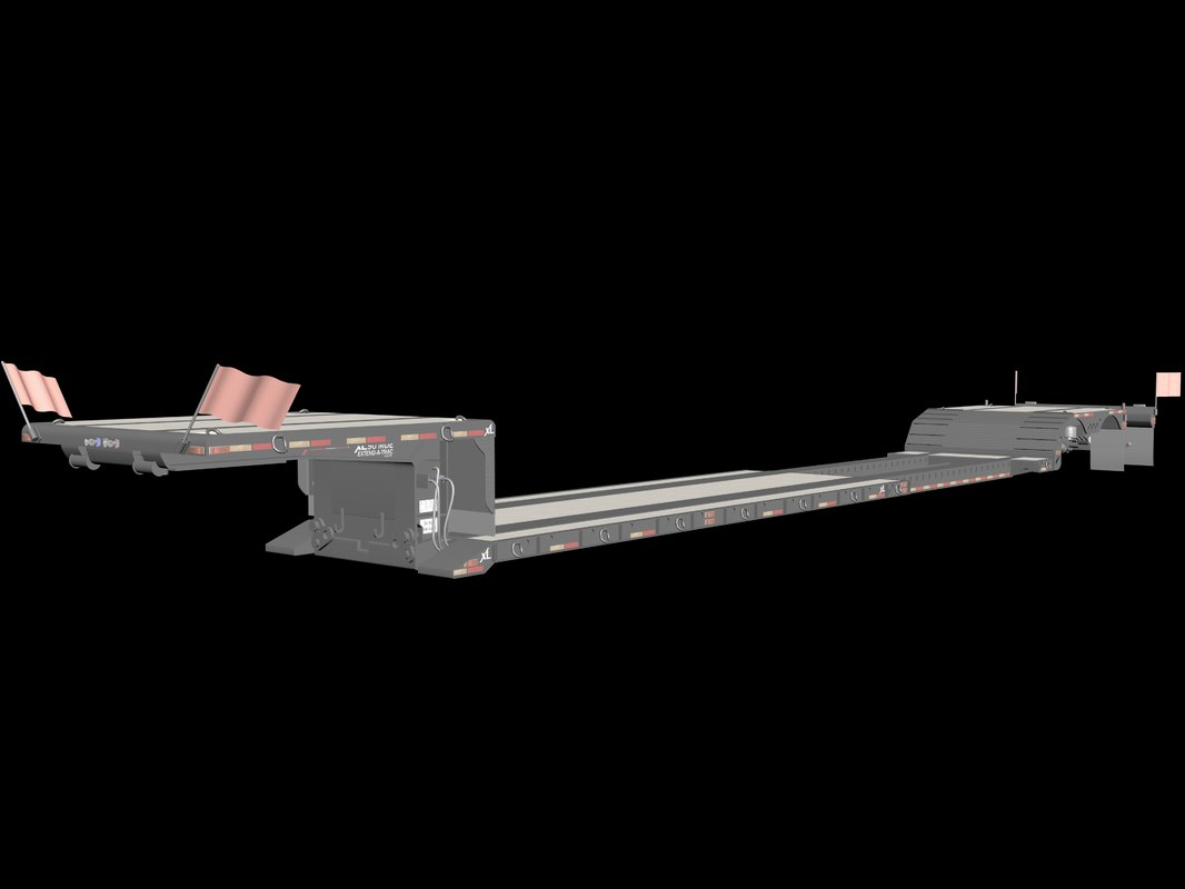 detachable gooseneck strechable 3d model
