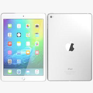 realistic apple ipad mini 3d max