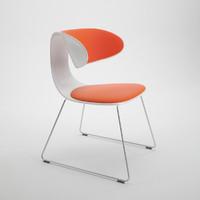 3d maxima chair model