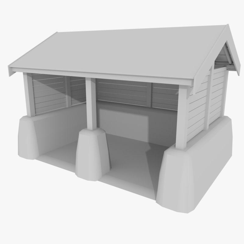 3d model viking stable