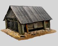 Russian Wooden Cabin