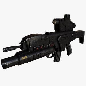 assault rifle beretta arx-160 ma