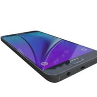 samsung galaxy note5 3d model