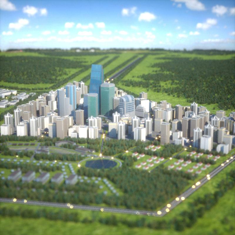 city octane 3d model