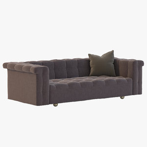 sofa edward wormley 3d 3ds