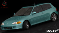 honda civic 1994 max
