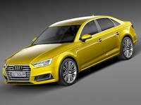 Audi A4 S-Line Sedan 2016