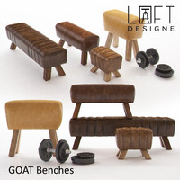max goat benches - loft