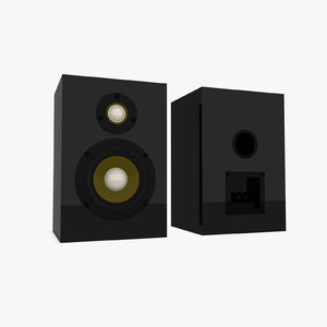 3ds max speaker box