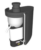 santos juicer black 50 3d model