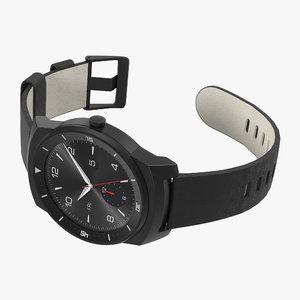3d lg g watch r model