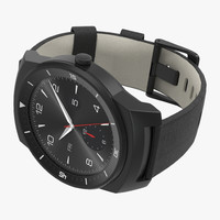 LG G Watch R 3 3D Model