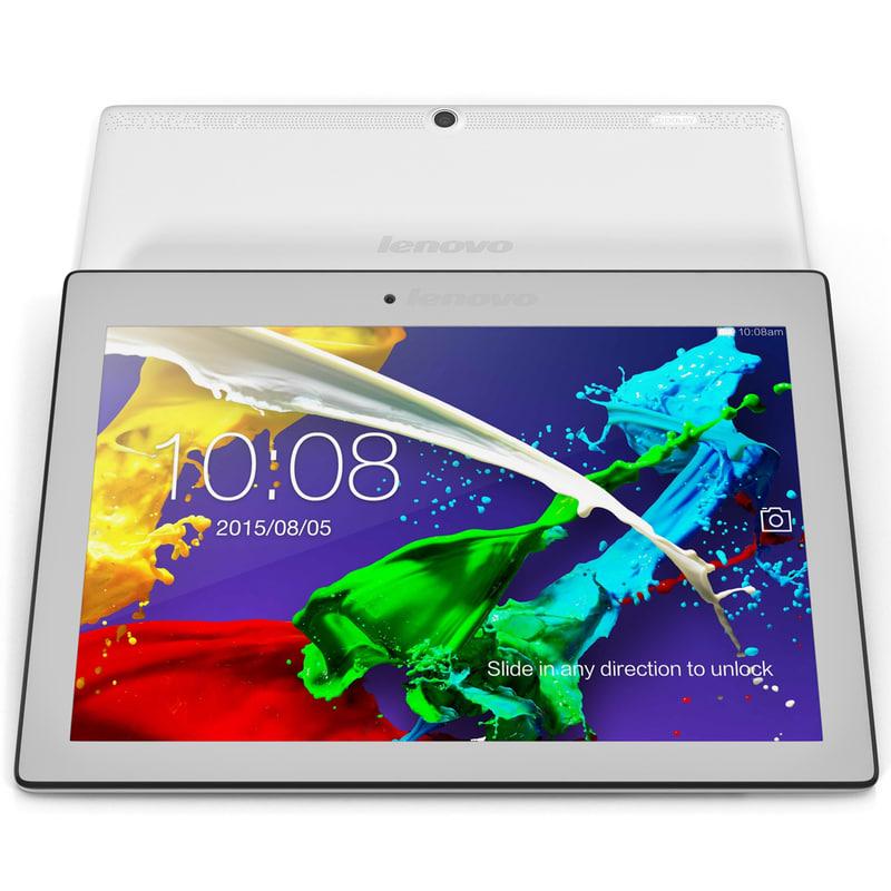3d model tablet lenovo tab 2