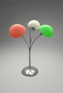 3d blend lamp