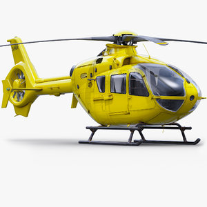 3d eurocopter multitask h135 model