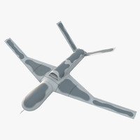 3d atomics avenger uav model