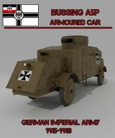 BUSSING A5P ARMOURED CAR