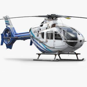 3d eurocopter h135 model