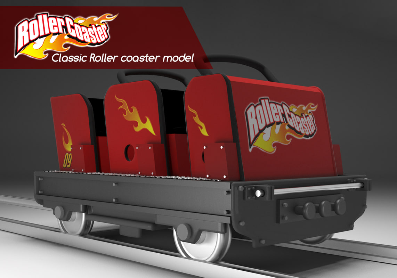 3d roller coaster