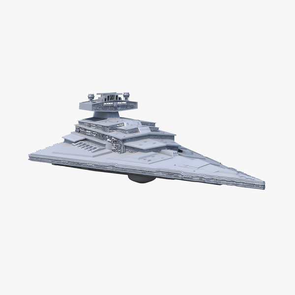 3d fbx star destroyer