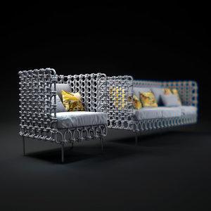 3d cabaret-sofa-high-back