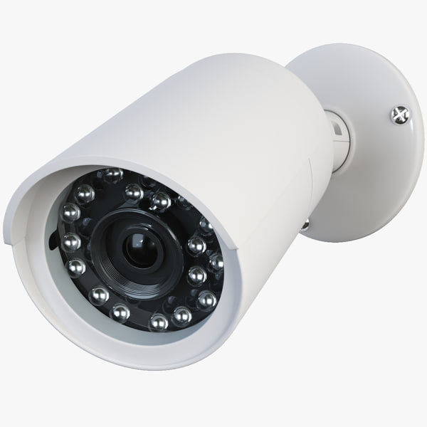 cctv security camera 3d model
