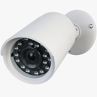 cctv security camera 3d model