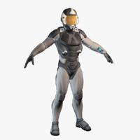 sci fi soldier max