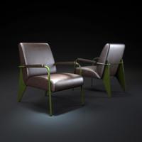 3d model fauteuil-de-salon