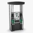 gas pump 3D models