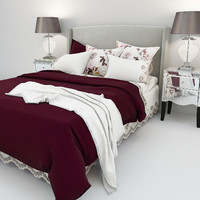 max olsen bed gatsby bedside