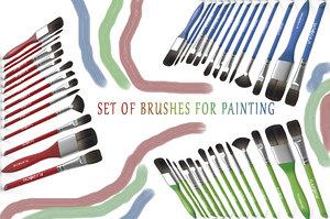 maya set brushes painting