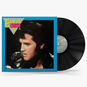obj vinyl record elvis gold