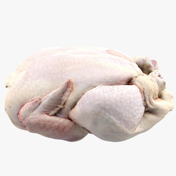 raw chicken 3d 3ds